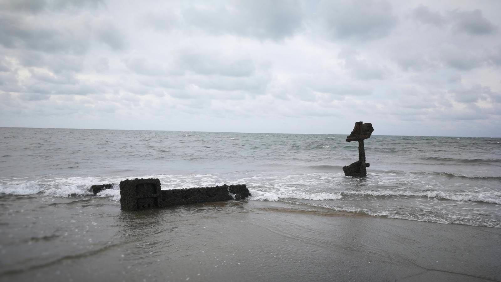 Brasile-piaui-barra-grande-shiprect-relitto-bassa-marea