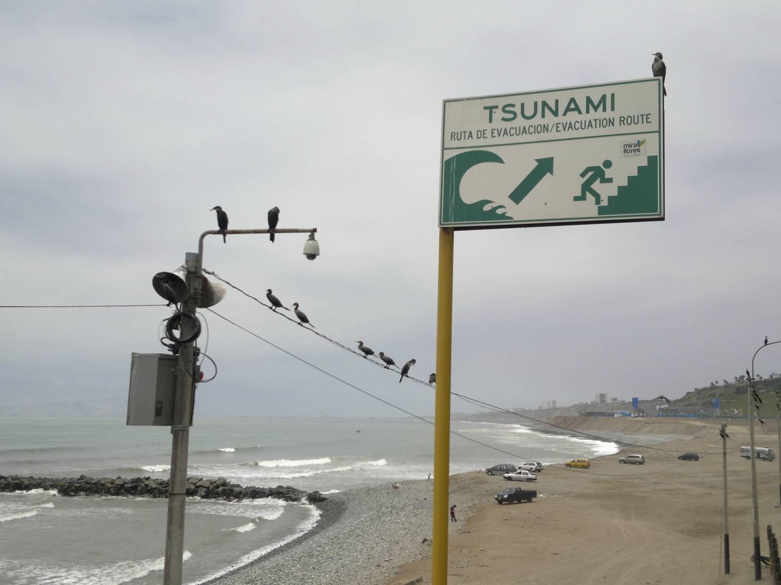 Peru-lima-lungomare-tsunami-escape